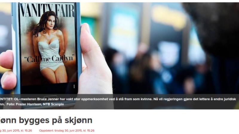 Faksimile fra Dagen.no
