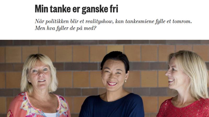 Faksimile Morgenbladet